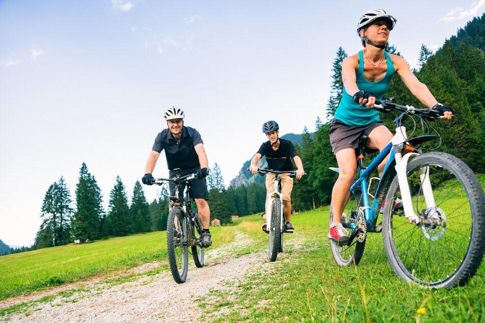 Von Burgstädt aus könnt Ihr zu einer 50-Kilometer-Radtour starten.