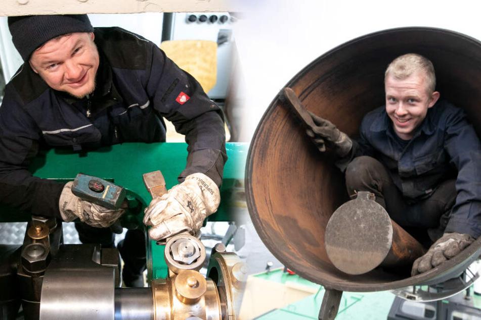 Dresden: Weiße Flotte macht die Dampfer winterfest