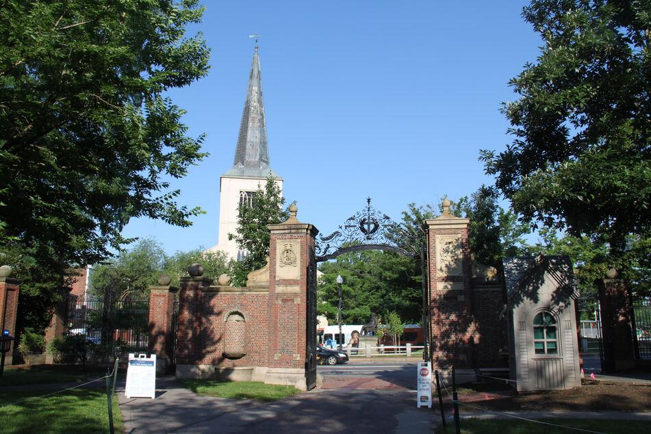 Der Campus der Harvard-Universität in Cambridge in Massachusetts. (Archivbild)