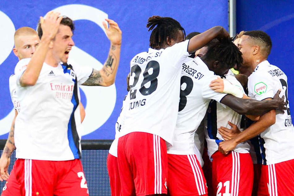Der Hamburger SV grüßt von der Tabellenspitze der 2. Bundesliga.