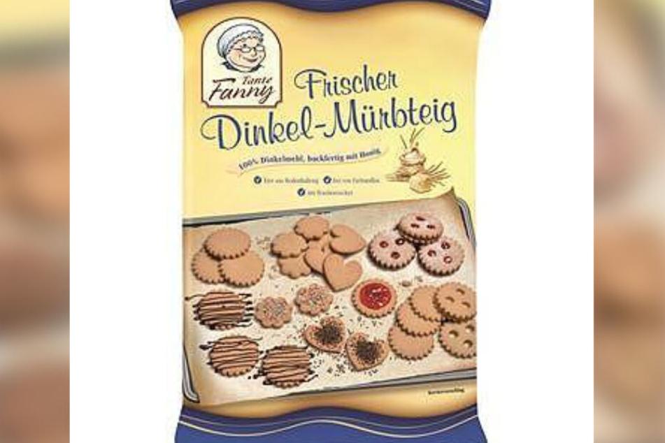 """Das Tante Fanny-Produkt """"Frischer Dinkel-Mürbteig"""" wurde zurückgerufen."""