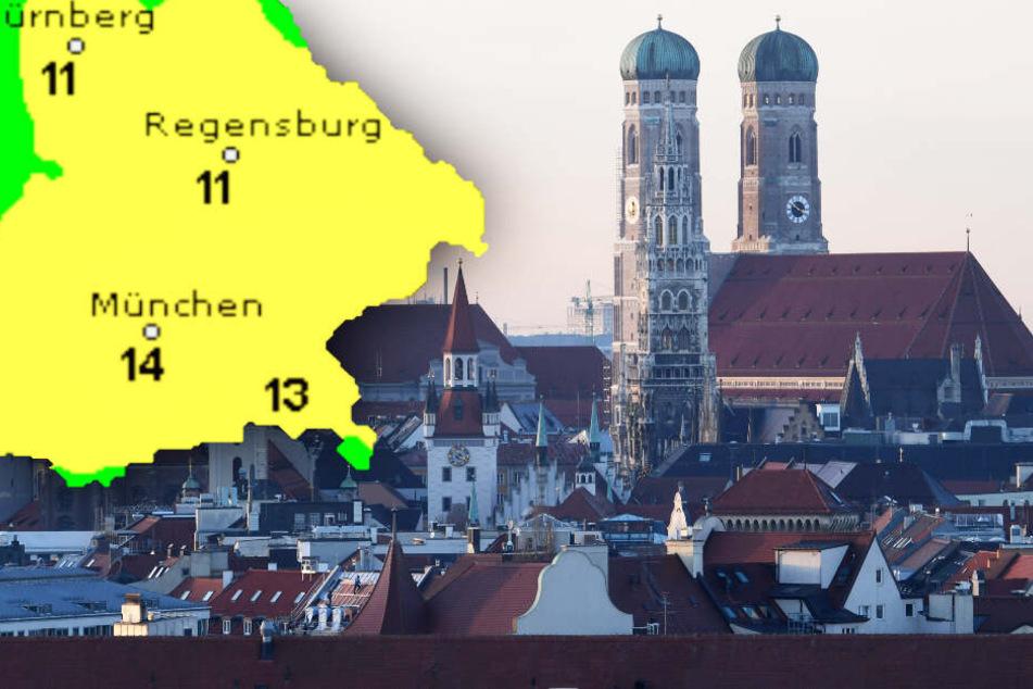 Warme Weihnachten: So wird das Wetter in Bayern in den kommenden Tagen
