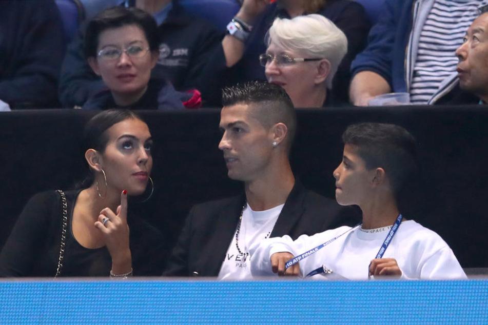Ronaldo und seine Freundin sind bereits zwei Jahre ein Paar.