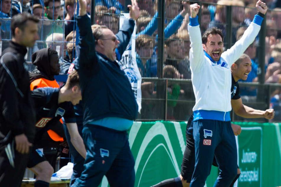 2015 holte das Team von Michael Hartmann bereits den DFB-Pokal der A-Junioren. Nun der nächste Triumpf.