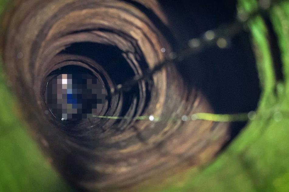 Sieben Jahre nach dem Verschwinden des Mannes wurde sein Skelett in einem Brunnen gefunden (Symbolfoto).