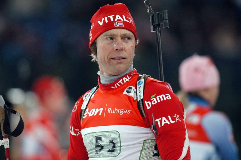 Der norwegische Biathlet war dreimaliger Olympiasieger.