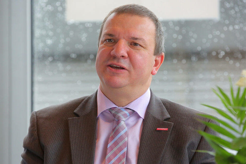 Handwerkspräsident Roland Ermer (53, CDU).