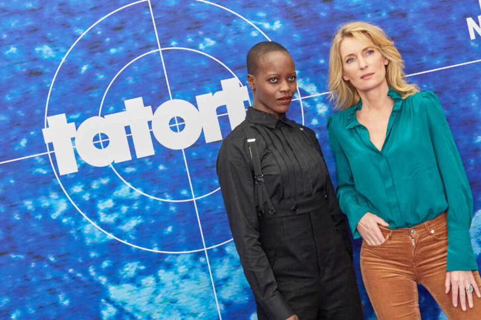 """Florence Kasumba (links) und Maria Furtwängler bilden ab sofort ein neues """"Tatort""""-Gespann."""