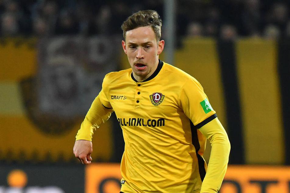 Fünf Jahre trägt Jannik Müller nun schon das Dynamo-Trikot. Geht es nach dem 25-Jährigen, wird er das schwarz-gelbe Jersey auch nächste Saison überziehen.