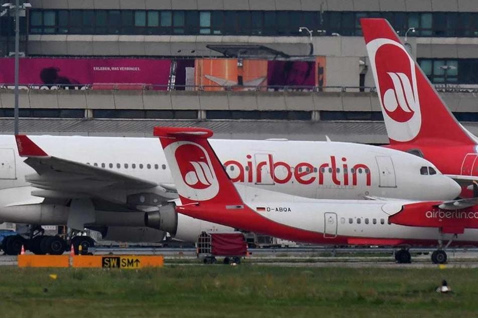 Air Berlin steht nach der Insolvenz zum Verkauf.