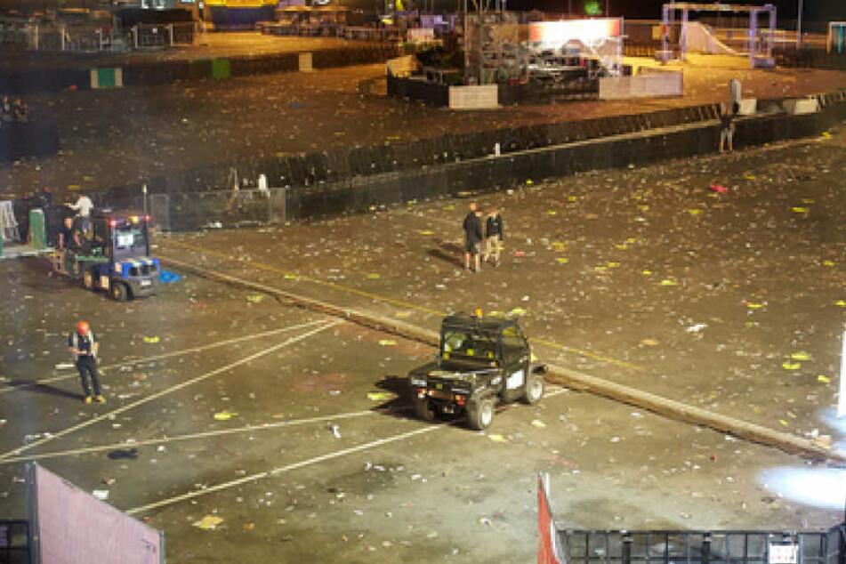 Festival am Nürburgring Terrorgefahr: