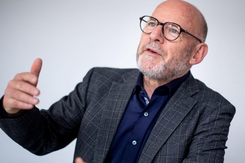 Verkehrsminister Winfried Hermann (Grüne) will sich in Mannheim selbst ein Bild machen. (Archivbild)