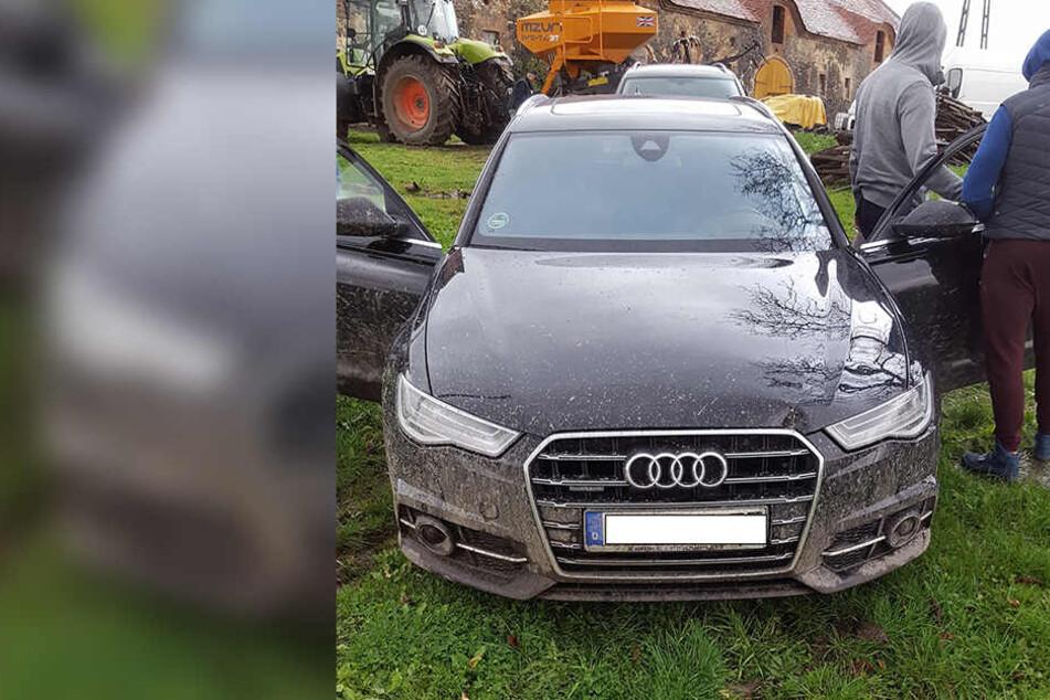 Der Audi wurde von Zivilbeamten in Polen entdeckt.