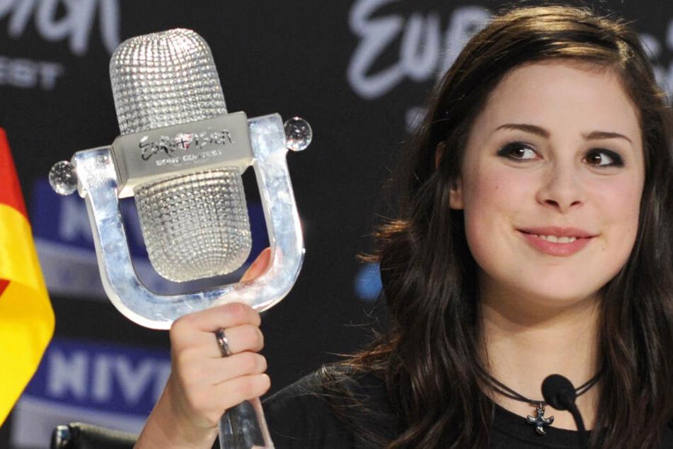 Lena Meyer-Landrut freut sich über den Sieg beim Eurovision Song Contest. (Archivbild)