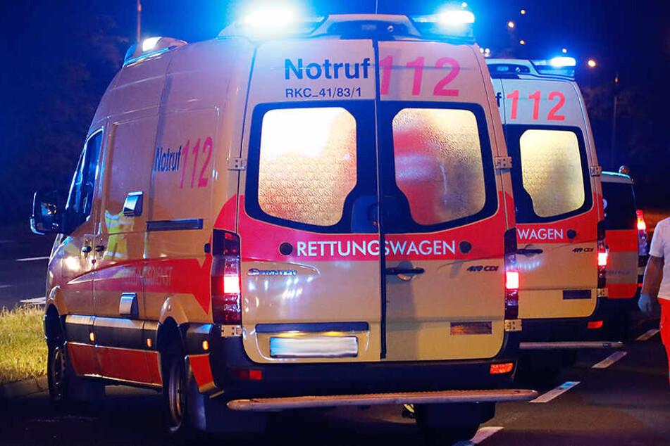 Zwei Polizisten in Zwickau im Einsatz verletzt: Krankenhaus