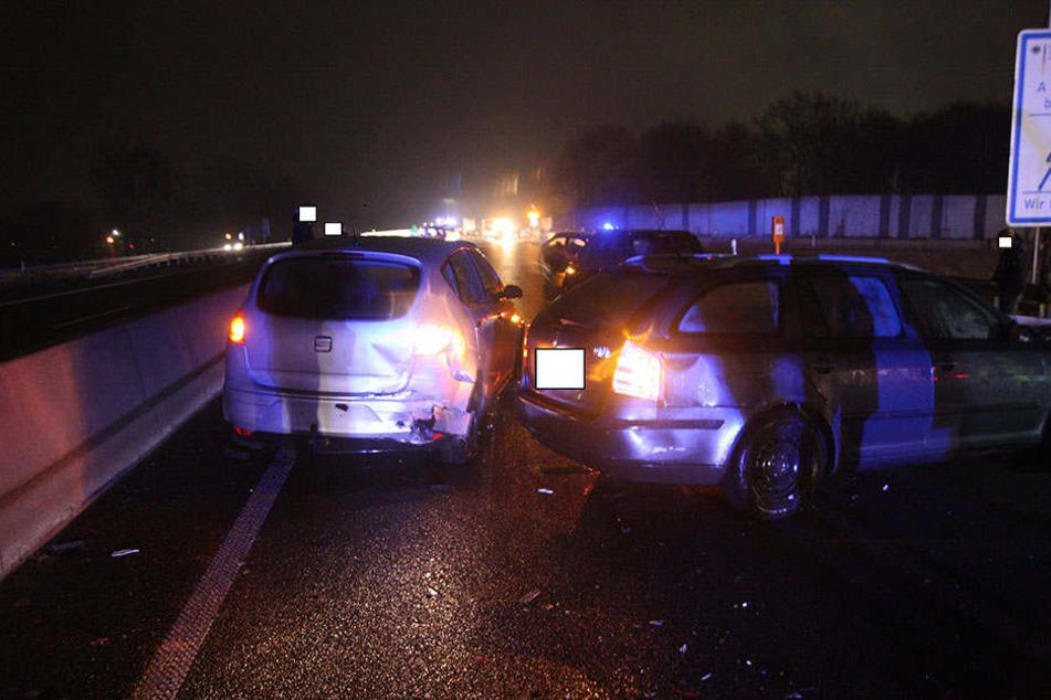 Auf der A30 kam es zu mehreren Unfällen.