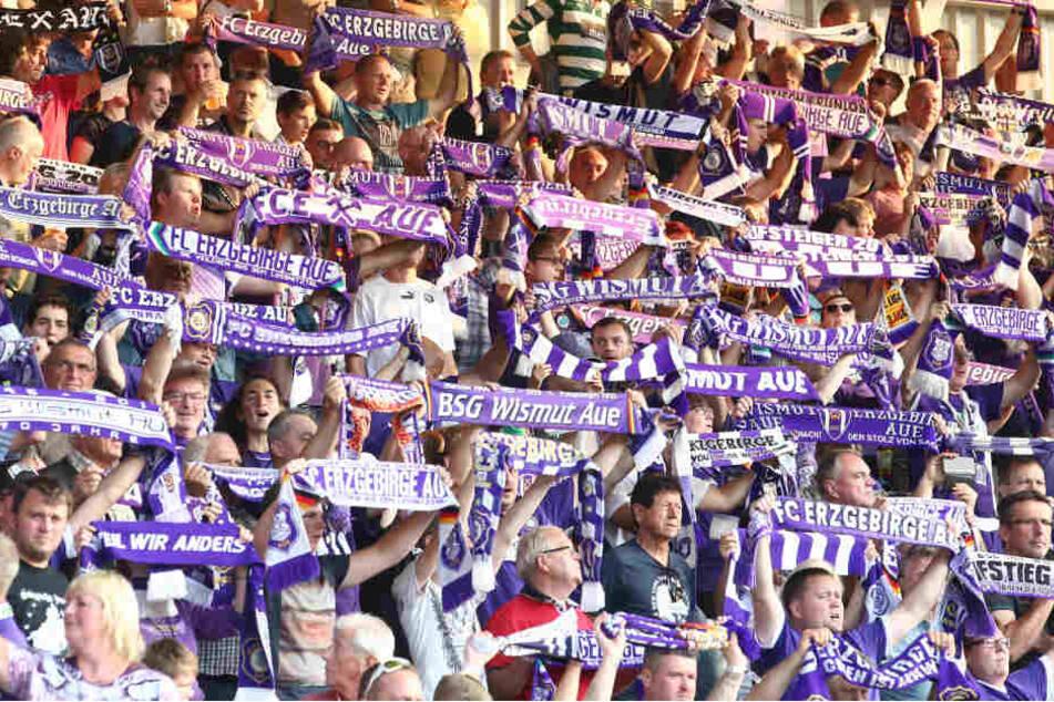 Die Fans aus Aue werden zahlreich nach Dresden fahren.