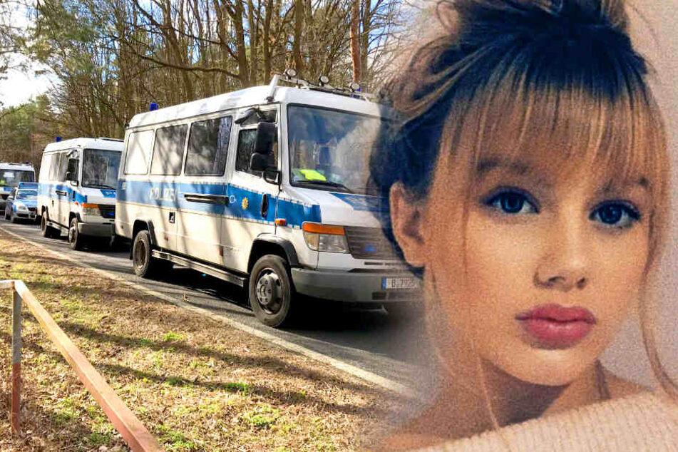 Mit Hundertschaft und Helikopter: Hier sucht die Polizei nach Rebecca!