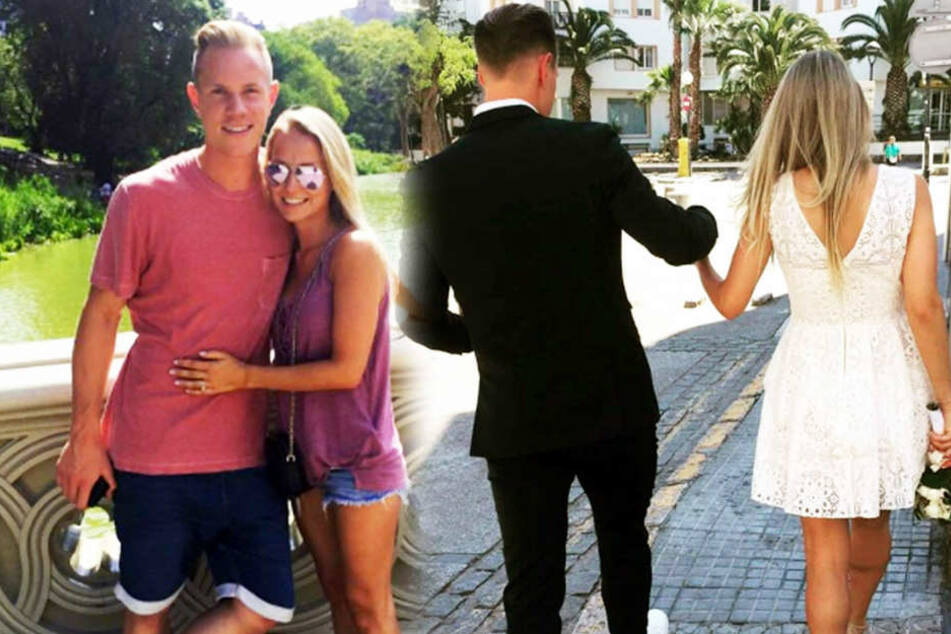 Wie süß! Mit diesem Foto verrät Daniela die Hochzeit mit ihrem Fußball-Star