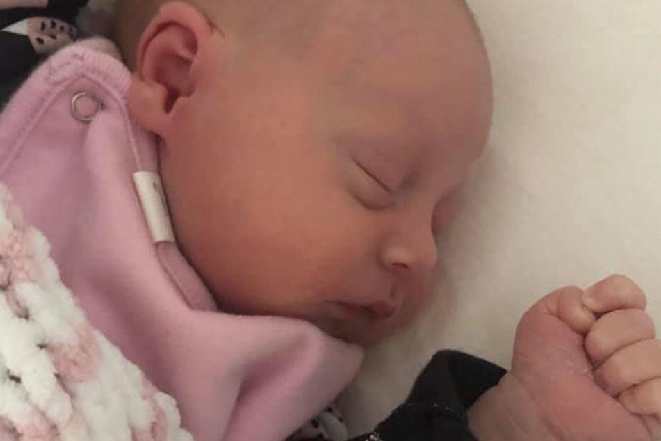 Elodie kam im Dezember zur Welt.