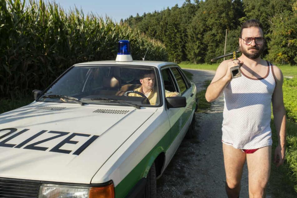 Sebastian Bezzel und Daniel Christensen im neunen Eberhofer-Film.