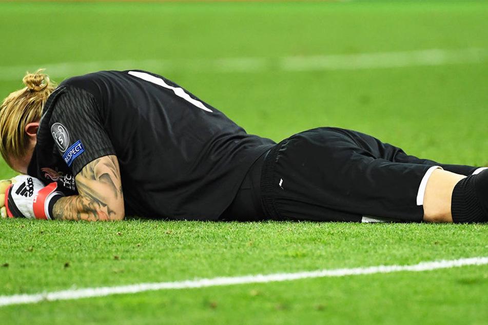 War nach dem Champions-League-Finale fix und fertig: Liverpool-Torwart Loris Karius.