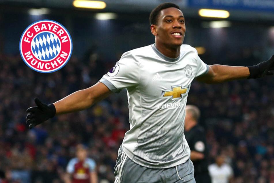 Transfer-Hammer? Bayern offenbar in Gesprächen mit Anthony Martial