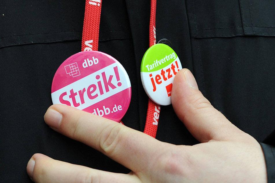 Bereits im Mai rief die Gewerkschaft zum Streik auf (Symbolbild).