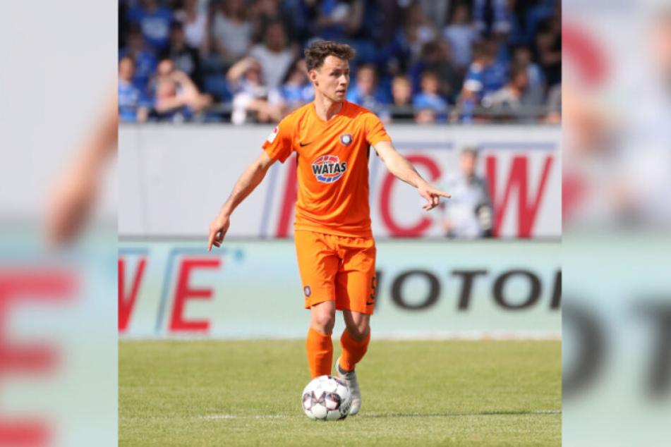 Clemens Fandrich bestreitet am Sonntag beim HSV sein 100. Punktspiel für den FC Erzgebirge. Viele weitere sollen hinzukommen.