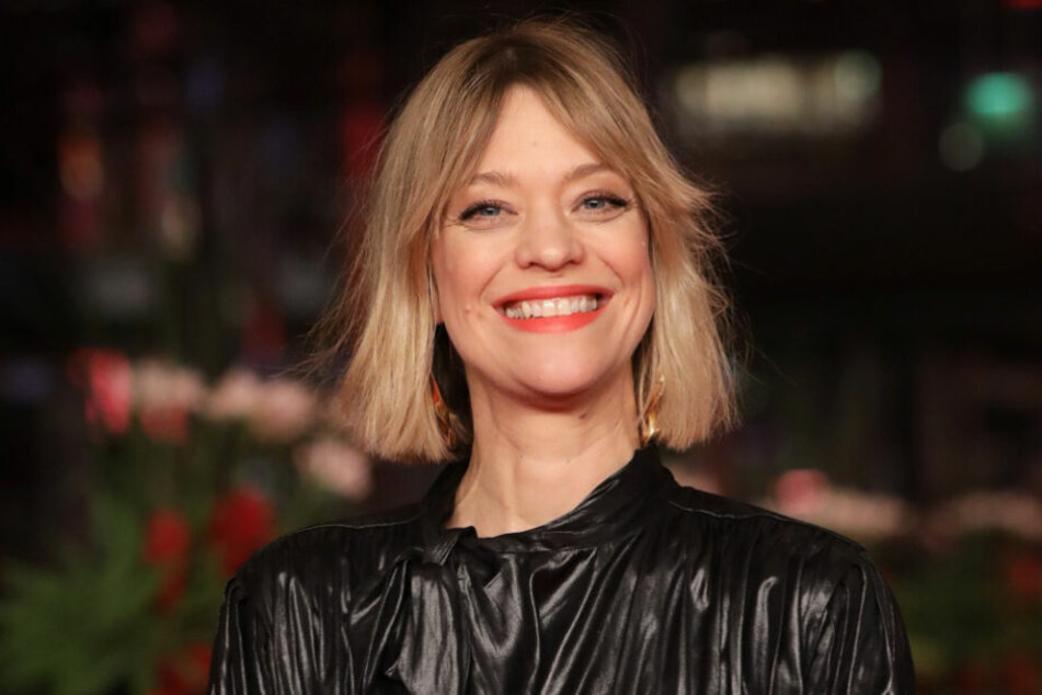 Die Schauspielerin vergab beim Festival die Auszeichnungen für den Schauspielnachwuchs.