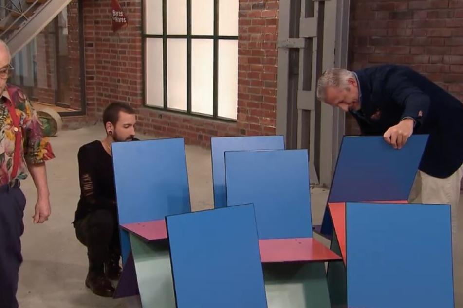 Die Stühle wurden vorab genau untersucht.