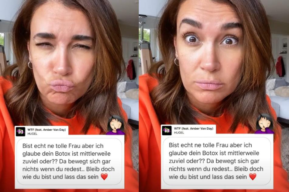 Die TV-Moderatorin (43) zeigt in einer Instagram-Story ihre Falten.