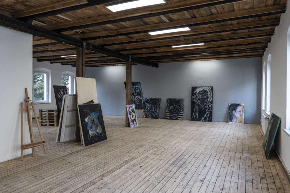 """In der Zwickauer Straße eröffnet am Samstag mit """"Karl's Kunsthaus"""" eine neue Galerie mit Atelier, Druck und Fotostudio."""