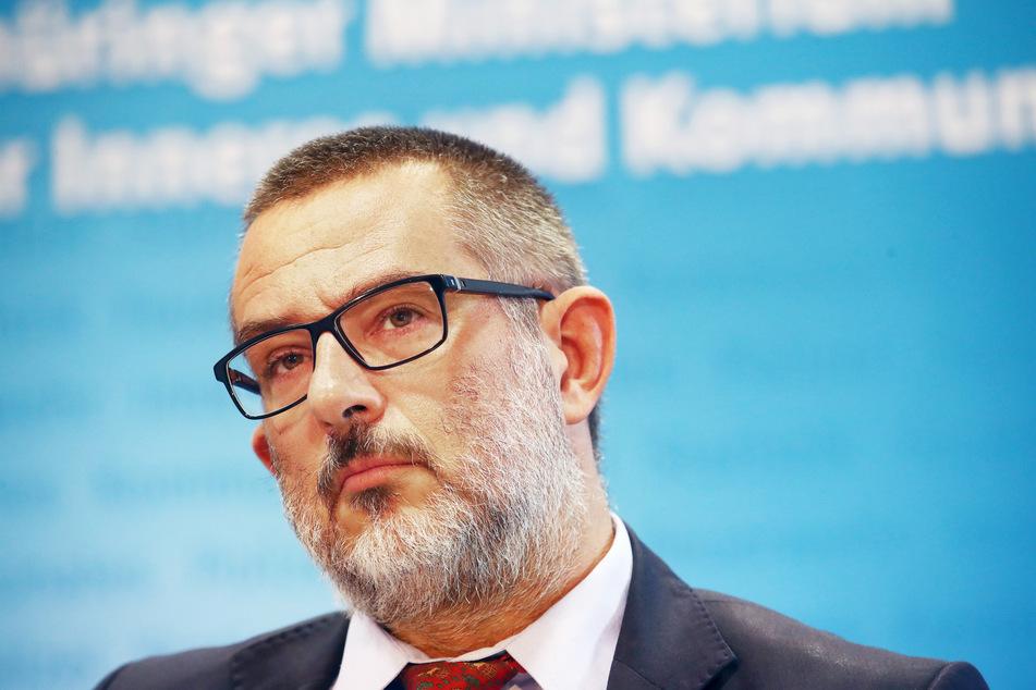 Stephan Kramer (53), Präsident des Thüringer Verfassungsschutzes.