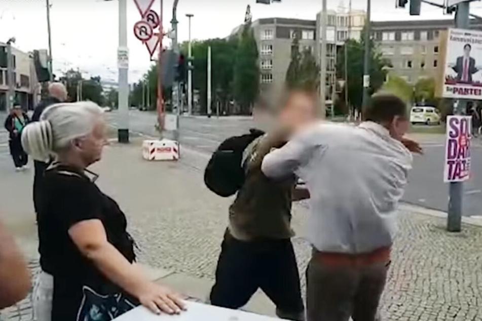 Der 31-Jährige schlug Keiler ins Gesicht.