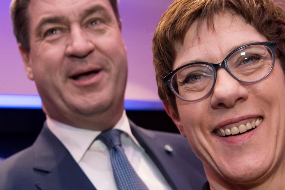 Endlich Harmonie zwischen CSU und CDU? Menschen in Bayern skeptisch