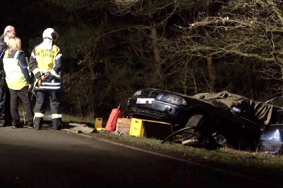 BMW-Fahrer stirbt noch vor Ort: So kam es zum tragischen Unfall auf B189