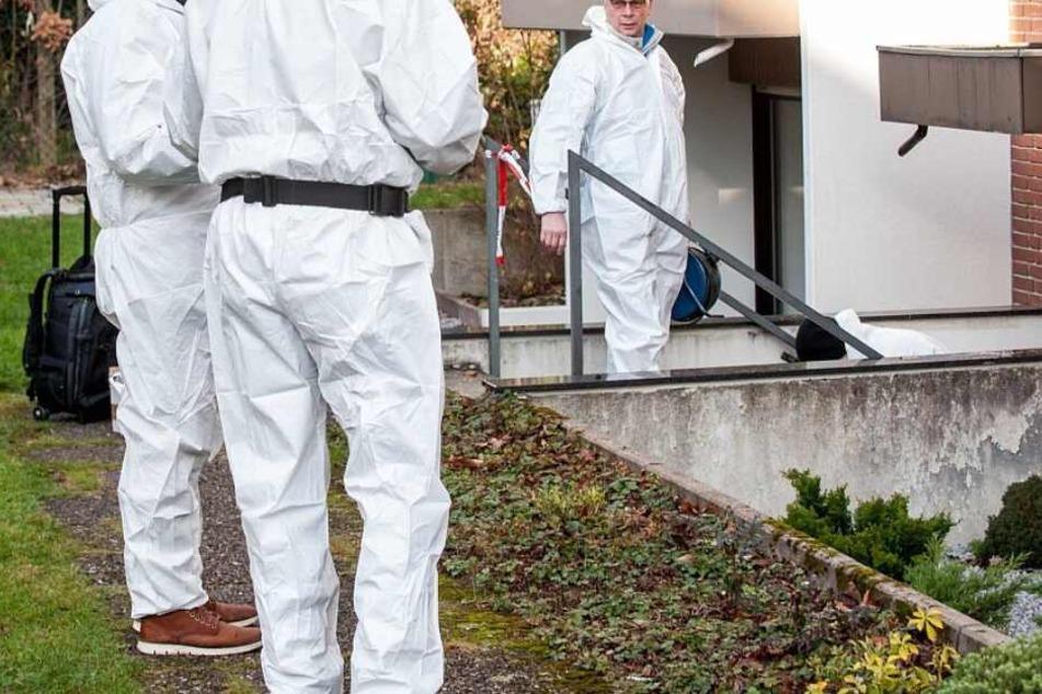 Die Mordkommission ermittelte wegen des Tötungsdelikts an der Senner Straße.