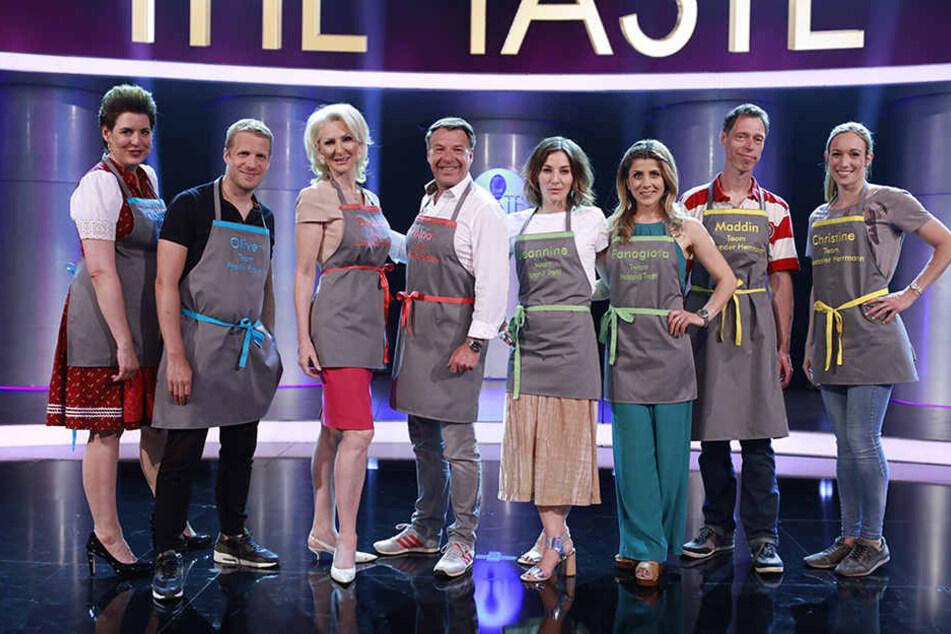 """Viele bekannte TV-Gesichter gaben sich bei """"The Taste"""" den Löffel in die Hand."""