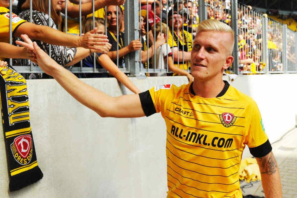 Luka Stor dürfte für den FSV Zwickau kein Pflichtspiel bestreiten.