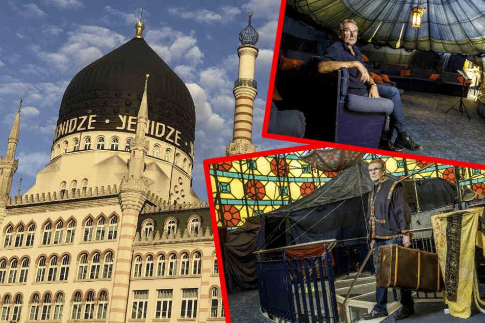 Dresden: Klimawandel! Märchenschau muss aus Yenidze flüchten