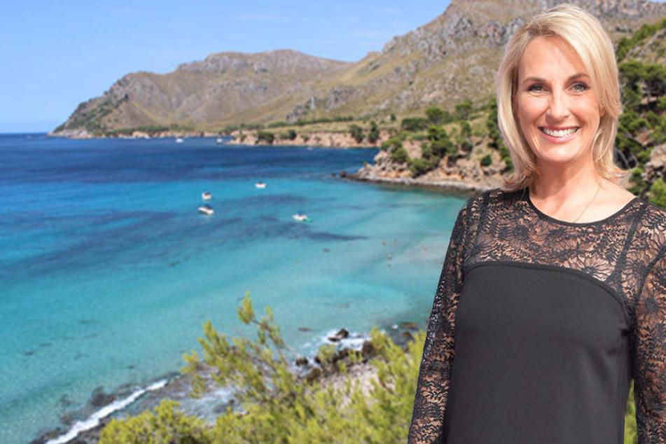 Die bei Deutschen beliebte Ferieninsel Mallorca ist das neue zu Hause von Moderatorin Britt.