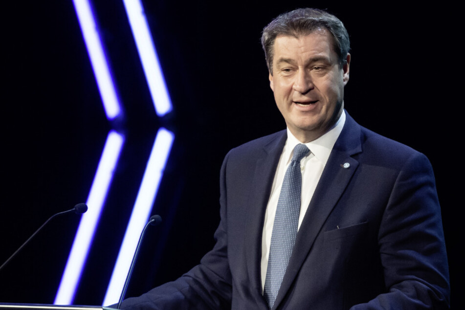 Der CSU-Vorsitzende Markus Söder (53).
