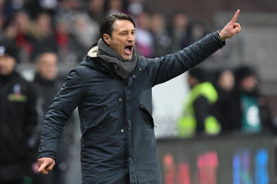 Niko Kovac erhofft sich in Wolfsburg einen Dreier.