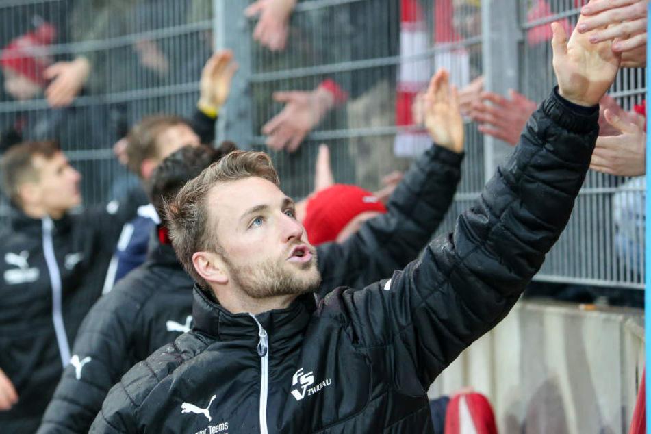 Mike Könnecke verabschiedete sich in Halle von den FSV-Fans und erholt sich über Silvester an der Ostsee.