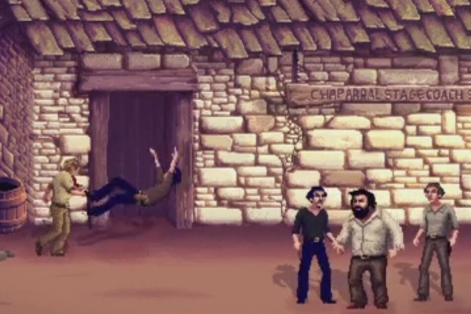 Auch die typischen Kampfstile wurden im Spiel imitiert.