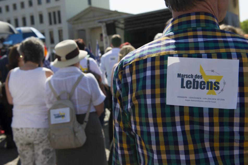 """Leipzig: """"Marsch des Lebens"""": Hunderte Menschen wollen in Leipzig gegen Judenhass demonstrieren"""