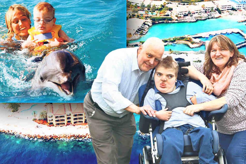Er sehnt sich nach seinen Delfinen: Benjamin braucht Eure Hilfe!