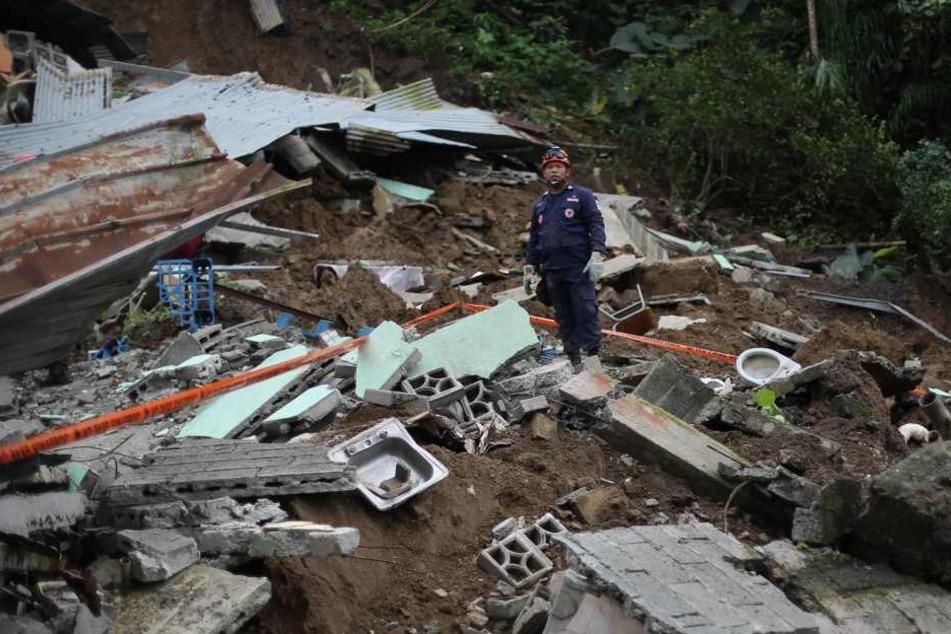 In Panama kamen mehrere Menschen durch die Unwetter ums Leben.