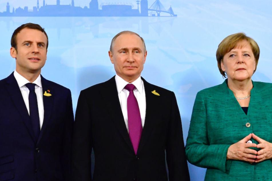 Die Regierungen Frankreichs und Deutschlands wollen im Konflikt zwischen Moskau und Kiew vermitteln. (Archiv)